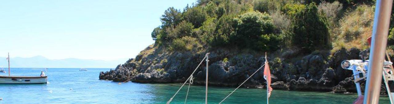 Gite in barca a Palinuro
