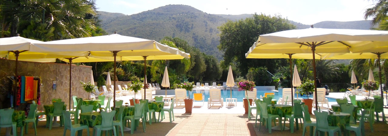 Ferienanlage mit Pool Cilento