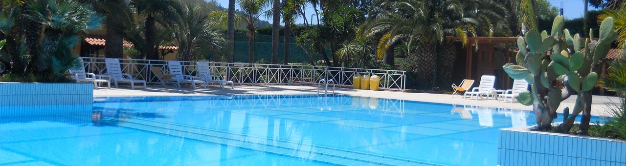 Palinuro residence con piscina