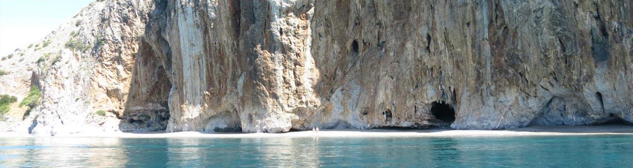Capo Palinuro grotte