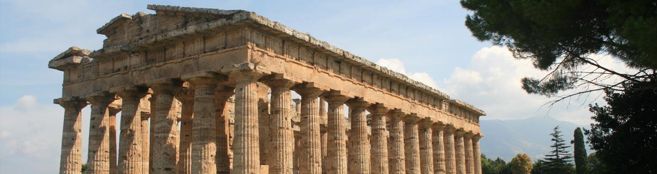 Tempel von Paestum Cilento