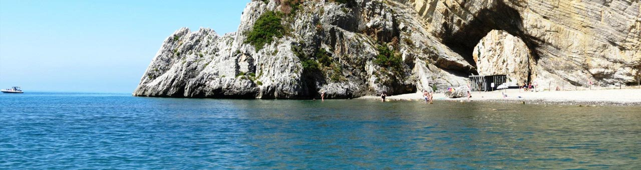 Palinuro spiaggia Arco Naturale
