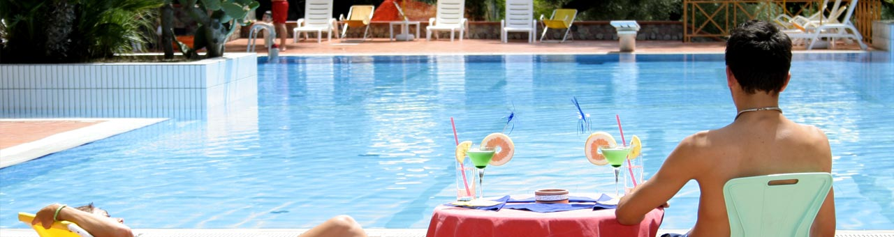 Cilento Ferienanlage mit Pool